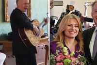 """""""Nejdu domů!"""" Kiska dostal kytaru a loučil se zpěvem, střídá ho Čaputová"""