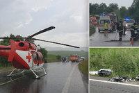 Andrej (†51) se spolujezdkyní (†50) si vyjeli na motorce: Zahynuli při srážce s autem