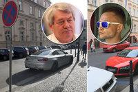 """Rudý playboy Rudy parkoval """"fára"""", kde chtěl. A u šéfa komunistů Filipa skončil"""