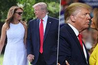 Melania Trumpová zářila jako sluníčko. Manžel si neodpustil bizarní vtip