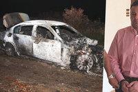 """V opilosti zabil chodce a ujel, auto zapálil: """" Falešný policajt"""" si odseděl jen 2,5 roku"""
