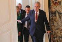 Senátoři zbrojí na Zemana: Ústavní žalobu rozšíří i o nečinnost při odvolání Staňka