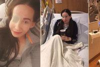 Ivanka s půlkou tváře poslala dojemný vzkaz po operaci: Bolest, slzy i myšlenky na rodinu