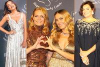 Přehlídka luxusu a noblesy: Petra Němcová a galavečer její vlastní nadace