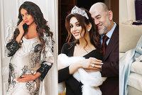 Jako z pohádky: Miss Moskva porodila sultánovi syna, dostal královské jméno