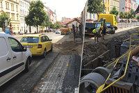 Rozkopaná Táborská ochromí auta i chodce: V srdci Nuslí na léto uzavřou některé okolní ulice