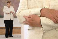 Strach o zdraví Angely Merkelové: Dvě minuty nekontrolovatelného třesu. Už zase