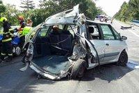 U Železné Rudy se střetla auta: Tři cizinci se zranili
