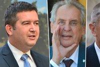 Zeman neřekl, že Šmardu nejmenuje ministrem: Kritici rozkrývají hru Hradu