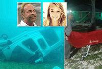 Tragická smrt amerického miliardáře (†60) a jeho dcery (†22): Z trosek vrtulníku vyprostili těla!