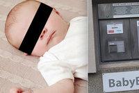 Miloška odložili do babyboxu hned po porodu: Matku pochválili