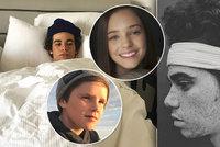 Charlotte Gottová i mladý Beckham: Náhlá smrt miláčka Hollywoodu zasáhla fanoušky po celém světě