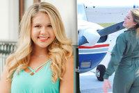 Modelka (†18) zemřela při pilotním výcviku: Havarovala na golfové hřiště
