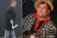 Kapelník Šlapeta Dolejš (55) zhubl o 60 kilo! Může za to smrt kamaráda