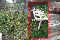 Chorvatsko zasáhly bouřky, kroupy a záplavy: Velké škody a zranění lidé