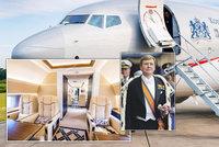 Takhle cestuje král: Tohle je luxusní letoun nizozemského monarchy! Stejný má i Kellner