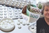Ludmila (67) přežila rakovinu, teď řeší, jestli koupit léky, nebo jídlo! Zpožděné doplatky ohrožují nemocné seniory