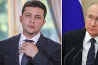 Putin poprvé hovořil se Zelenským. Nový prezident chce na východě Ukrajiny mír