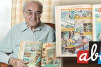 Legendární šéf ABC slaví 90. Toman bavil miliony dětí a promluvil o svých začátcích