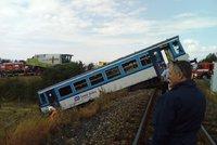 Řidič ze smrtelné srážky s vlakem je ve vazbě: Hrozí mu až 10 let