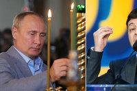 Putin nabídl ruský pas lidem na východě Ukrajiny. Kyjev mluví o další agresi