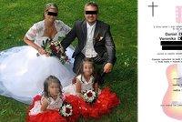 Tragická nehoda rodiny na přejezdu: Dojemná slova na parte