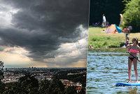 O víkendu bude až 31 °C, v neděli dejte pozor na bouřky a sledujte radar