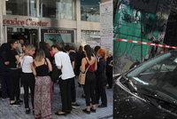 Řecko vyděsilo silné zemětřesení. Vystrašení lidé vybíhali z domů