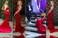 Souboj sexy zadečků: Bagárová vynesla šaty po Fajksové! Která vypadá líp?