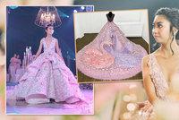 Oslava osmnáctin za 655 tisíc: Vlastní orchestr, pětipatrový dort a extravagantní šaty!