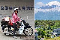Dominika (už zase) na cestě: Mladá cestovatelka na motorce tentokrát objevuje Japonsko