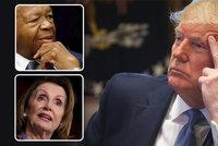 """Trump se brání kvůli černošskému politikovi: """"Nejsem rasista."""" Na demokraty vytáhl """"krysy"""""""