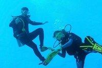 Potápěč Matej (†38) tragicky zahynul v zatopeném lomu: Našli ho bez masky tři metry pod hladinou