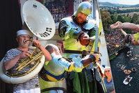 Tipy na víkend: Zažijte středověk, dixieland v ulicích nebo extrémní skoky do vody