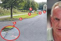 Dopravní expert o nehodě v Humpolci: Letěl 70 km/hod, ale čas na reakci měl!