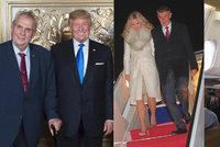 Zeman se může potkat s Trumpem, Babiš s císařem. Vyletí i Petříček, kdo nejdál?