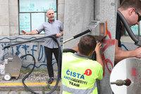Nekonečný boj. Městské části utrácejí kvůli odstraňování nelegálního graffiti miliony