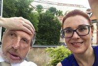 """Po Klausovi mladším do čela """"zrzka"""": Poslankyně doufá v pomoc Klause staršího"""
