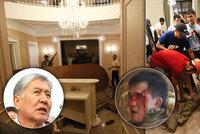 Krvavá přestřelka v sídle exprezidenta: Stoupenci drží 6 policistů, jeden je po smrti