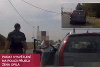 Opilou ženu se 3 promile chytili za volantem: Podat vysvětlení přijela ještě opilejší