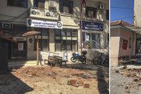 Turecko zasáhlo silné zemětřesení. Záchranáři sčítají zraněné, zřítilo se několik domů