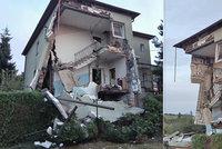 Milovníkovi vojenské munice vyletěl barák do povětří: Zemřel, z domu zbyly trosky