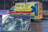 Auto smetlo chodce na Lounsku: Tragédii nepřežil