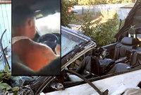 Řidič najel sporťákem do zahrady. Zabil dítě (†3), těhotnou, seniorku a utekl