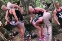 Česká hvězda instagramu znesvětila chrám na Bali: Šokující video rozzuřilo místní doběla