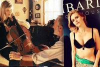 To je pohled! Sexy violoncellistka z Kolji Šuvadová (46) dráždí v prádle