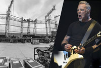 Metallica rozduní Letňany: Víme, co zazní! Na koncert míří 70 tisíc lidí.