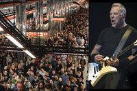 Metallica rozduní Letňany: Víme, co zazní! Na koncert přišlo 70 tisíc lidí.