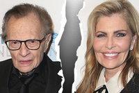 Moderátorská hvězda Larry King se rozvádí! Už poosmé