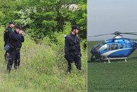 Stovka policistů v pohotovosti, hledala sebevraha: On zatím sbíral v lese houby!